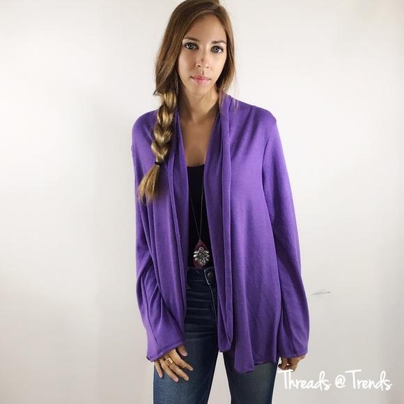 30c46efd503 Purple Cardigan Sweater Boutique