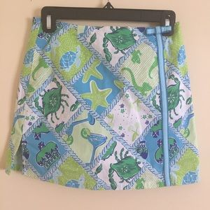Lilly Pulitzer Pants - Lilly Pulitzer 🌴 Skort • Green and Blue (2)