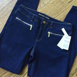 Michael Kors skinny jeans NWT