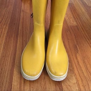 Aigle Shoes - Yellow Aigle Rain Boots