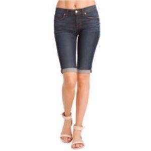J brand cuffed shorts in Eastwick sz 27