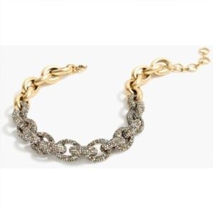 j.crew pave link necklace