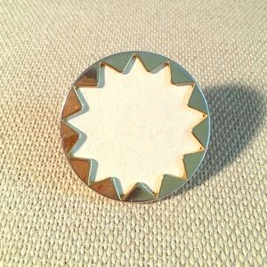 House of Harlow 1960 Sunburst leather ring size 6