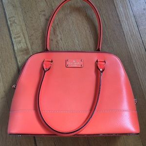 Neon Orange Kate Spade handbag