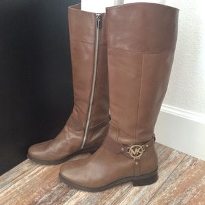 Michael Kors Shoes - Michael Kors riding boots in taupe