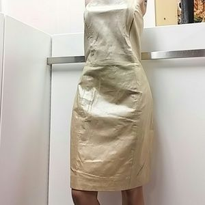 Vintage  leather dress. Size 12