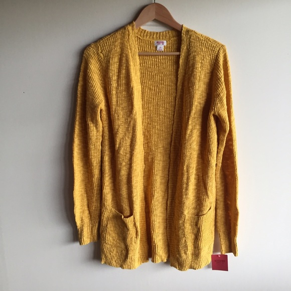 20% off Mossimo Supply Co. Sweaters - Mustard yellow open knit ...