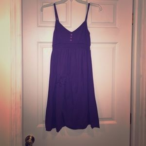 3/$15!! Kirra purple mini dress S