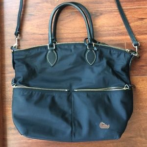 Dooney & Bourke Handbags - Dooney & Bourke nylon black satchel
