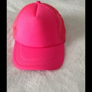 Brand new Hot Pink Trucker hat SnapBack