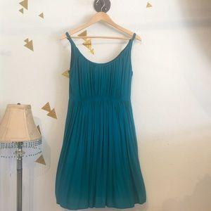 Turquoise Madewell Dress