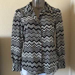Missoni for Target Tops - Missoni For Target Chevron Print Blouse