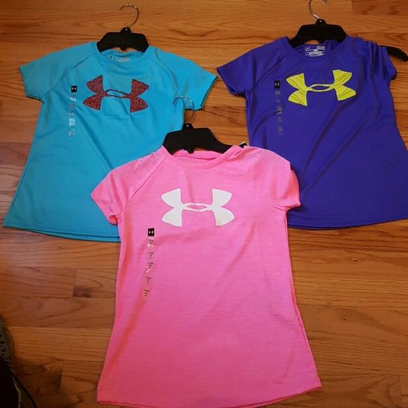 under armour shirts for girls