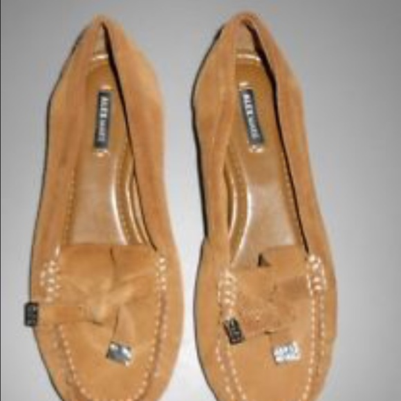 8adb6a6498f Alex Marie Shoes - Suede flat loafers