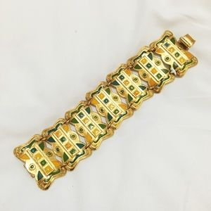 Ben-Amun Jewelry - Gold plated Egyptian inspired bracelet