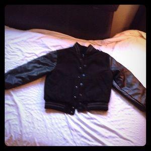 Other - Black jacket gently worn