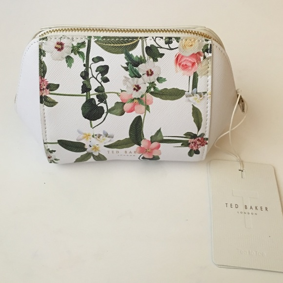 e0e06fa38dd1 WEEKEND SALE Ted Baker Floral Makeup Bag🎀