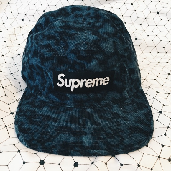 Supreme X Liberty of London Leopard Camp Cap. M 57cb679b56b2d6cf6f000383 dc636e3c0deb