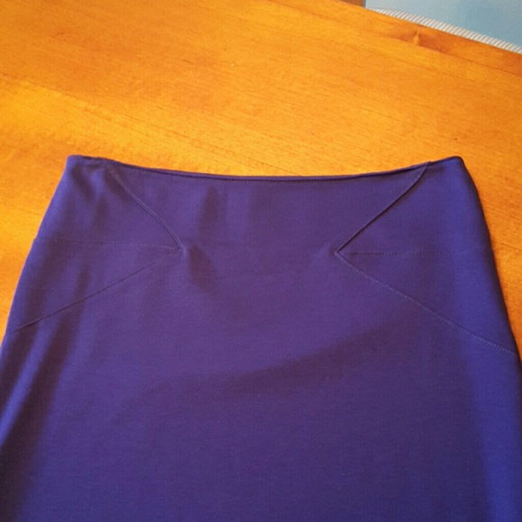 forever 21 bright blue pencil skirt from s closet