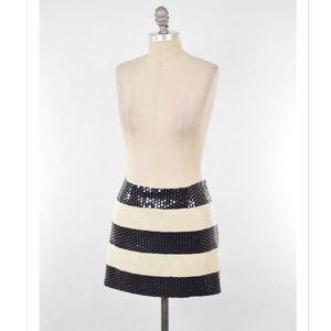 Alice & Trixie Dresses & Skirts - Alice & Trixie striped sequin silk mini skirt