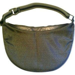 LAST CHANCE Gucci Auth Handbag Metallic Hobo