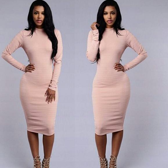 3b3f921526b31 Fashion Nova Dresses & Skirts - Fashion Nova LeAnn Dress in blush