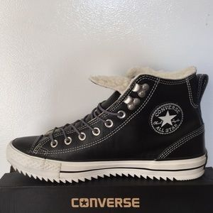 9654204d288e Converse Shoes - BRAND NEW 100%REAL LEATHER Converse Winter Mids!