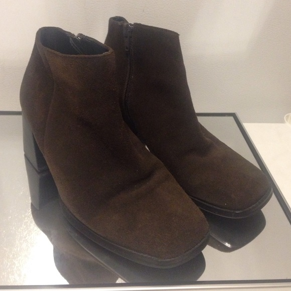 Pazzo Shoes - Brown Leather Ankle Boots