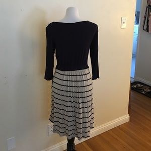 Loveappella Dresses & Skirts - Navy blue and khaki dress