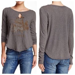Free People Tops - Free people golden arrow tee