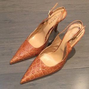 Iceberg Shoes - Iceberg Leather Slingback Pumps Size 36 , 6