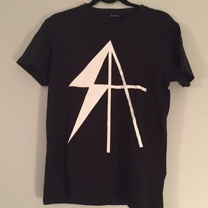 Surface to Air Tops - Surface to Air x ASICS Collaboration Shirt SZ M