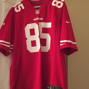 Other - Large 49er Vernon Davis jersey