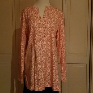 Land's End Cotton Tunic Top