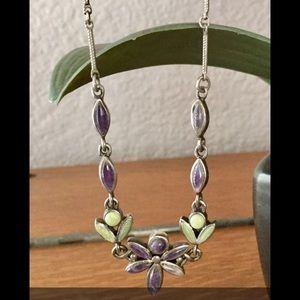 Jewelry - ⬇️PRICE DROP⬇️STERLING SILVER Necklace & Earrings