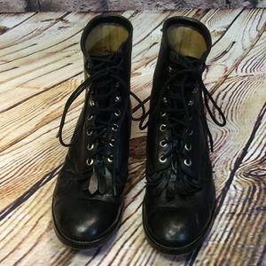 Justin Boots Other - SZ 5.5D BOYS BLACK JUSTIN ROPER BOOTS