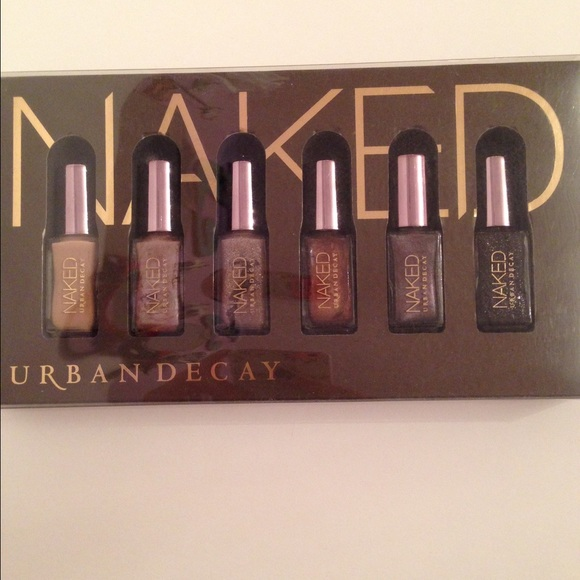 Urban Decay Other | Urban Decay NAKED Nail Polish Set | Poshmark