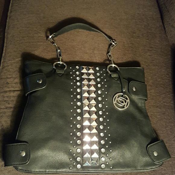 bebe Handbags - Black bebe purse used 1 time!