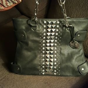bebe Bags - Black bebe purse used 1 time!