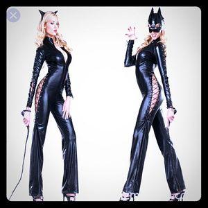 Cat woman suit Halloween costume