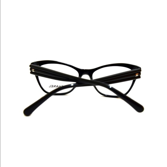 Chanel Prescription Glasses Frame : 48% off CHANEL Accessories - Chanel Black Eyeglasses ...