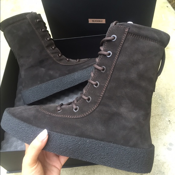 promo code e55c6 1d9db Yeezy Season 2 Crepe Sole Boot in