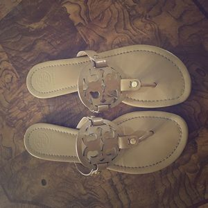 Tory Burch Miller - Nude, Size 9