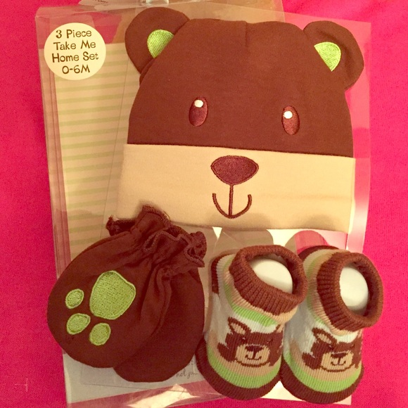 Baby Essentials Accessories Hp Baby Bear Take Me Home Set 3 Pieces Poshmark