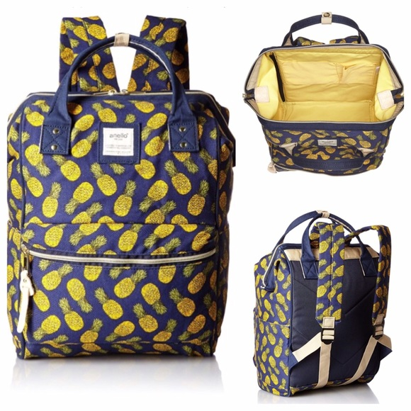 Anello Pineapple Travel Backpack Bag 1b82ba693a644