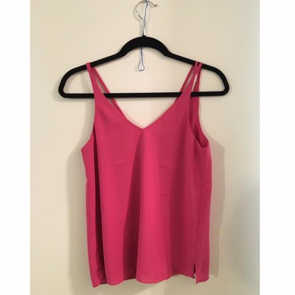 3d5d4d12f558 Pink Topshop Double Strap Cami. M_57cc324778b31c2804000392
