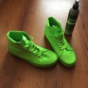 Highlighter Vans Shoes