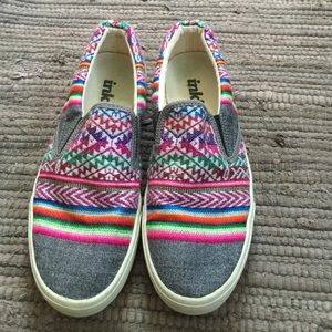 inkkas Shoes - inkkas slip on colorful shoes
