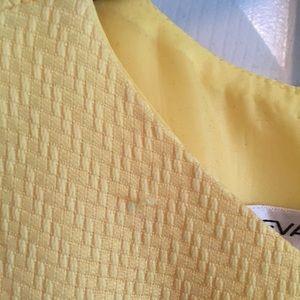 Evan Picone Dresses - Yellow Sheath Dress