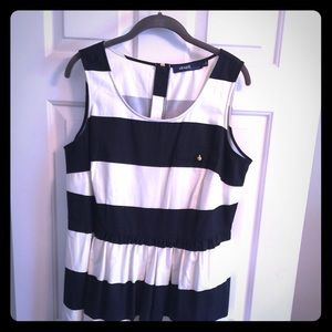 Re-Posh - Stripped Eloquii Dress with pockets!